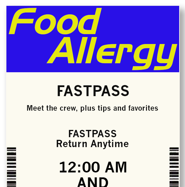 Food Allergy FastPass podcast for Disney fans
