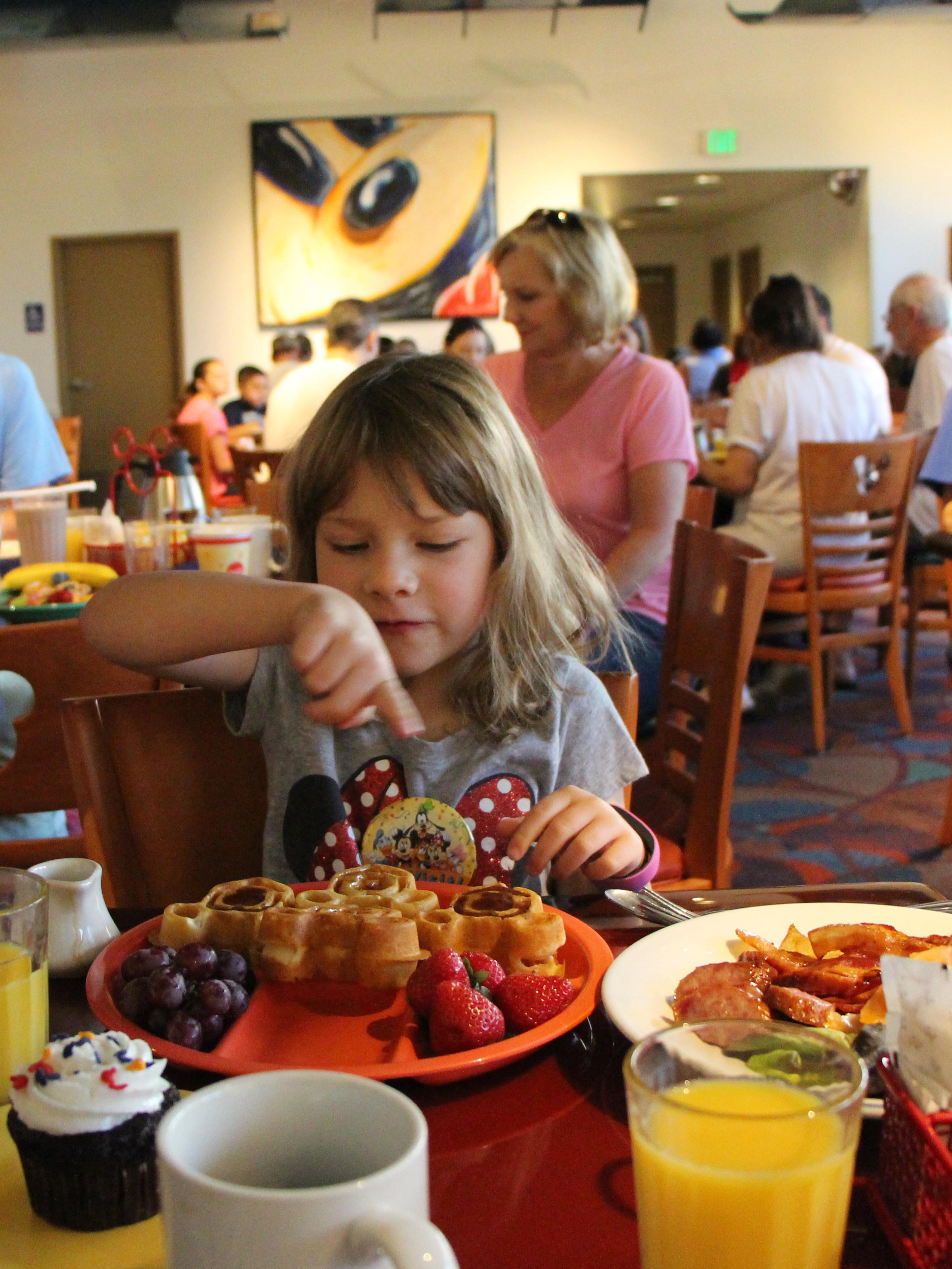 Chef Mickeys dairy-free egg-free breakfast