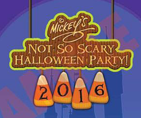 Mickey's Not So Scary Halloween Party food allergy options