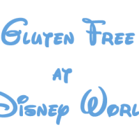 Gluten free dining at Disney World