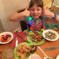 Cape May breakfast with dairy and egg allergies