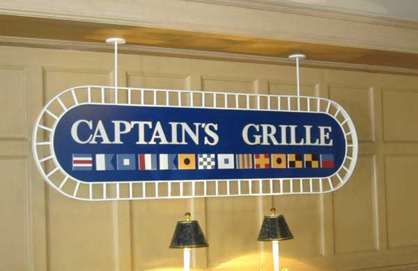 Disney's Captain's Grill with food allergies