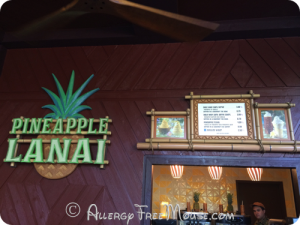 Polynesian Resort - Pineapple Lanai for Dole Whips
