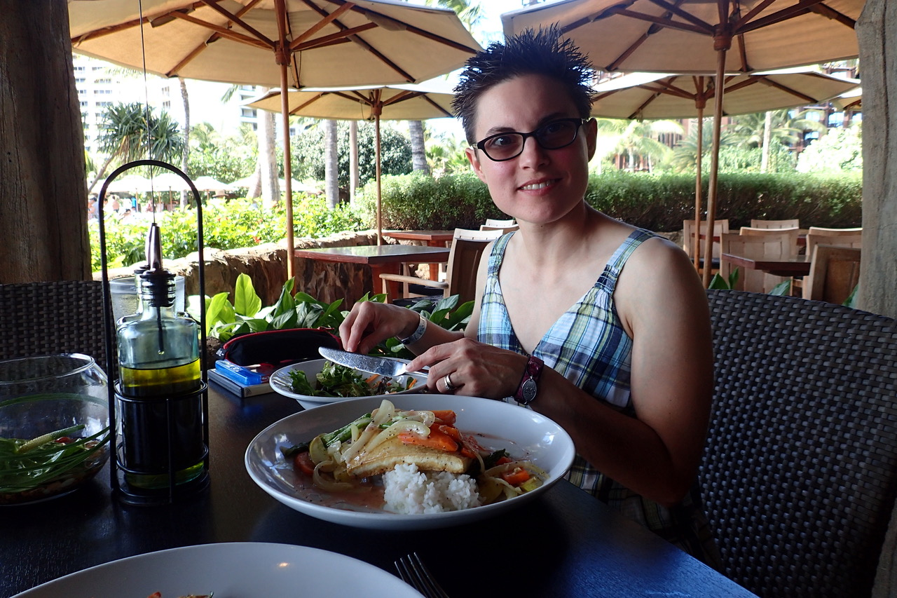 Food allergy friend lunch at Disney Aulani