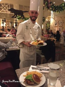 Grand Floridian Chef Ben food allergy chef
