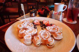 Mickey waffles at Aulani Makahiki