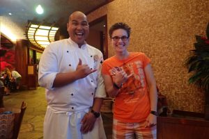 Great chefs at Aulani - food allergy knowledgeable