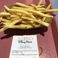 Quick snack at Electric Umbrella in EPCOT