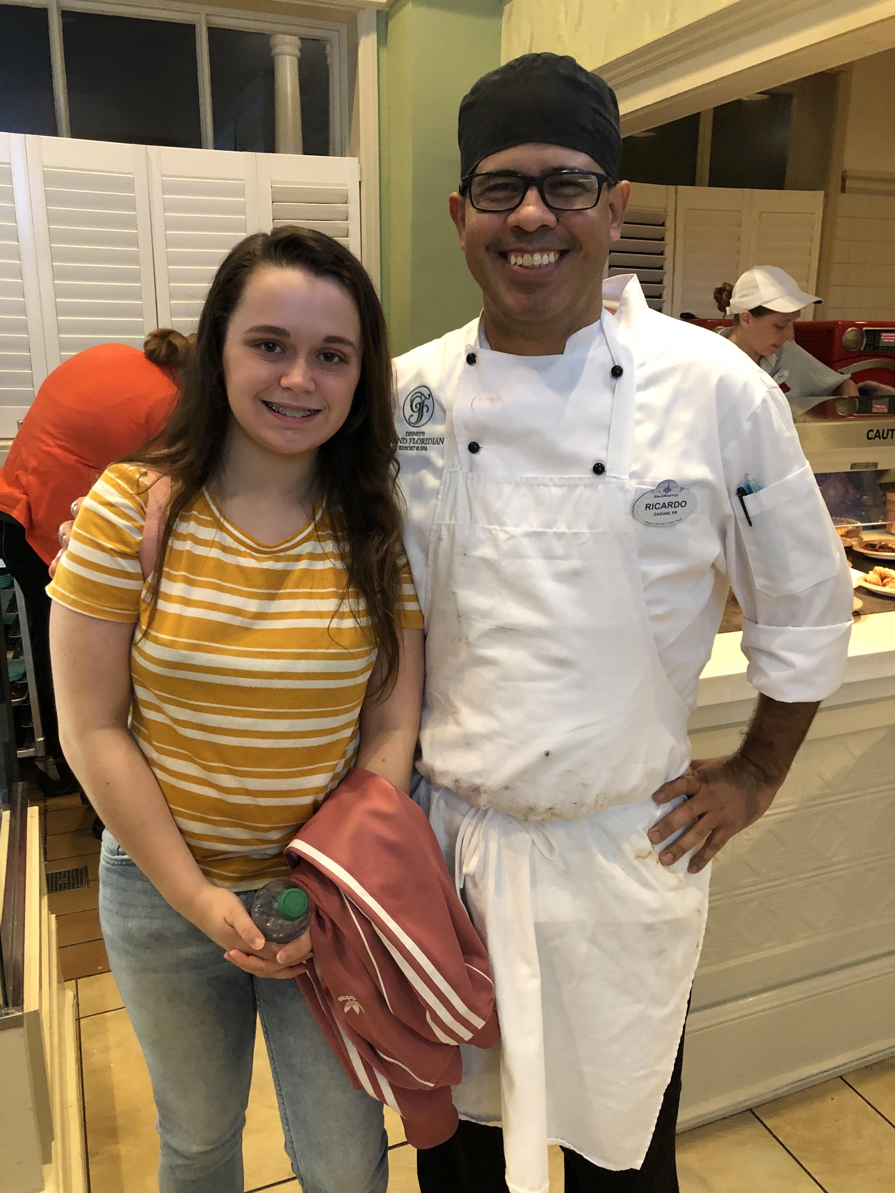 Chef Ricardo at Gasparilla Island Grill
