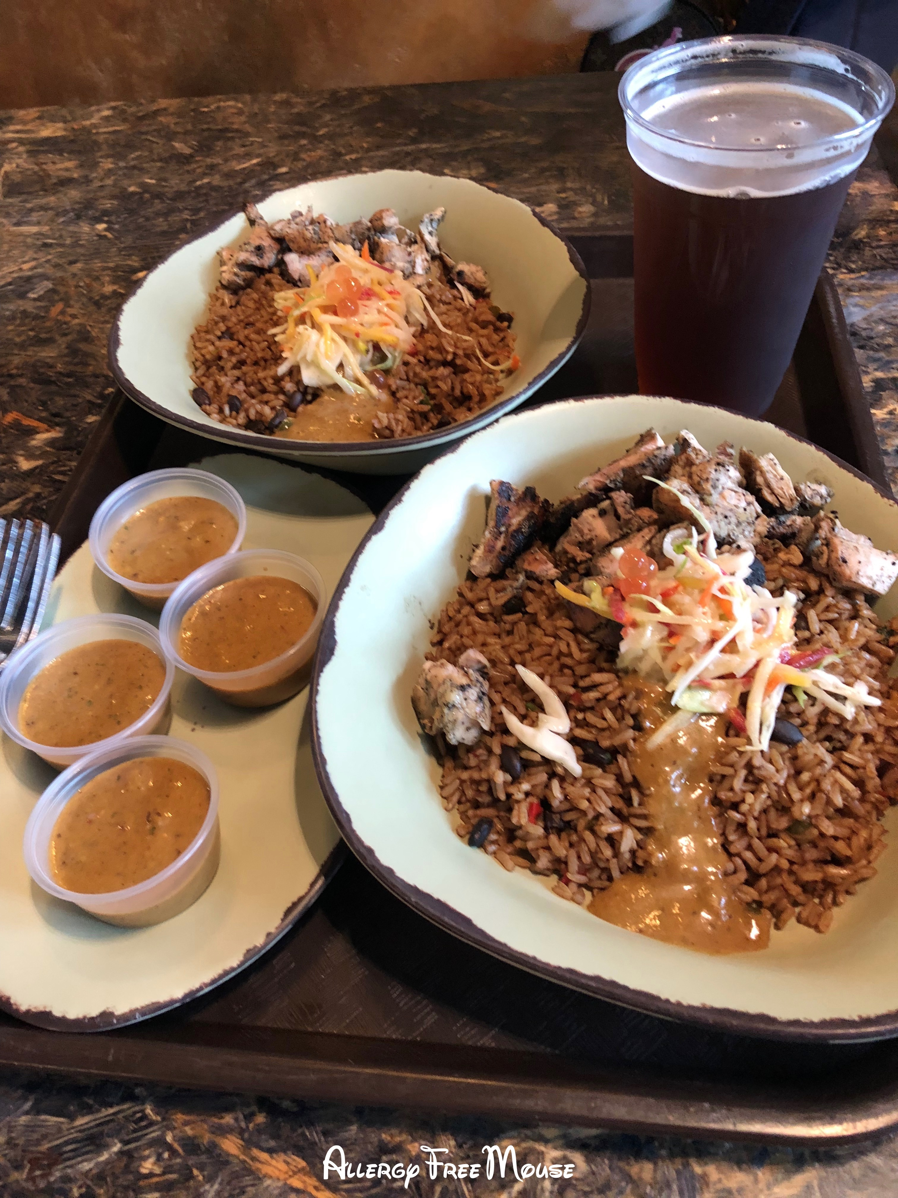 Satu'li Canteen Grilled chicken and rice