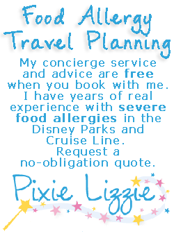 Disney trip planning with a Disney Travel Agent who has expert food allergy experience