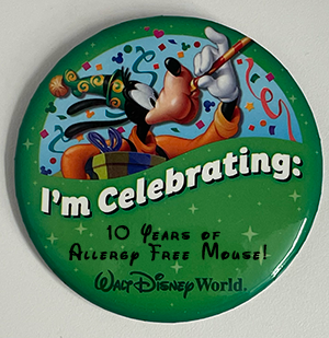Allergy Free Mouse is 10 Years Old!