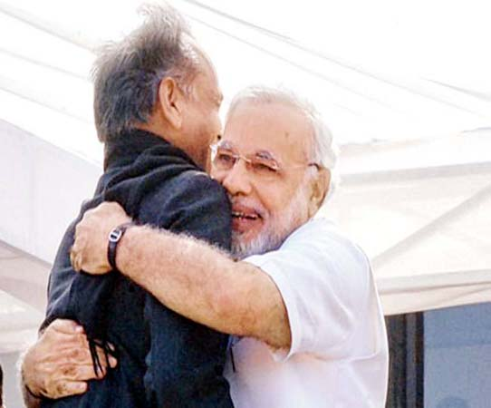Pm Modi-Ashok Gehlot (File Photo)