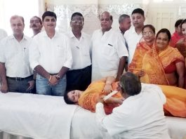 Blood donation in bikaner