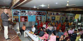 Dr. Gaurav Bissa In Rsv School
