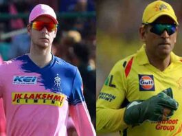 IPL2020 : RR vs CSK