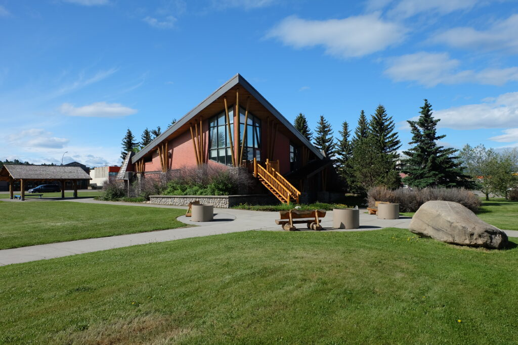 Visitor Information Centre in Hinton
