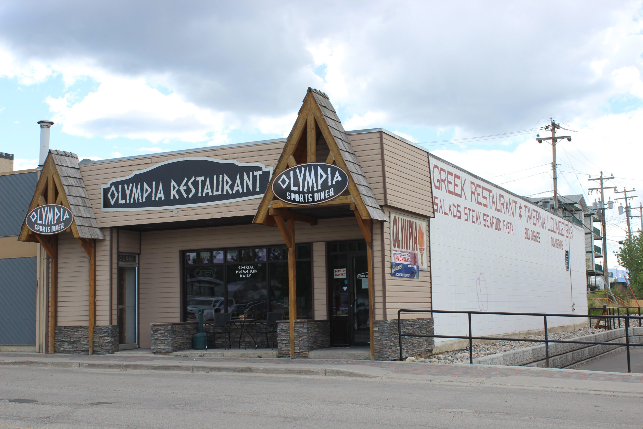 Olympia Greek Restaurant Hinton