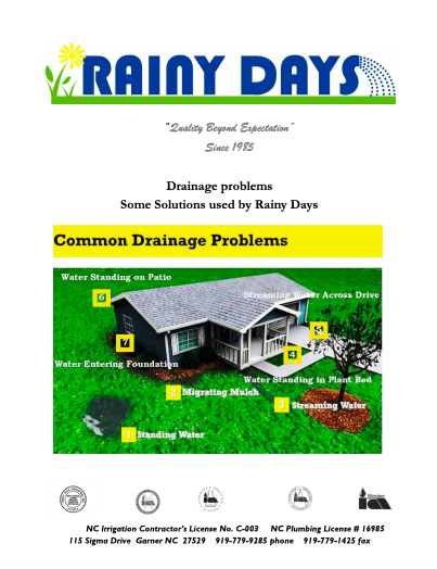 free-common-drainage-guide