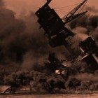 USS Arizona (BB-39) during the attack on Pearl Harbor