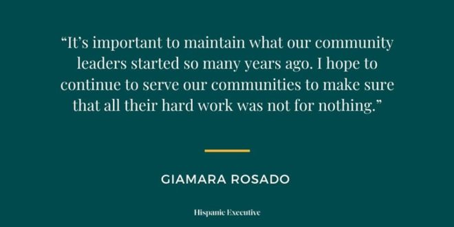 Gia Rosado Quote_Hispanic Executive