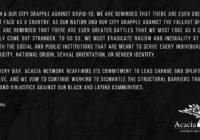Web Banner Public Statement