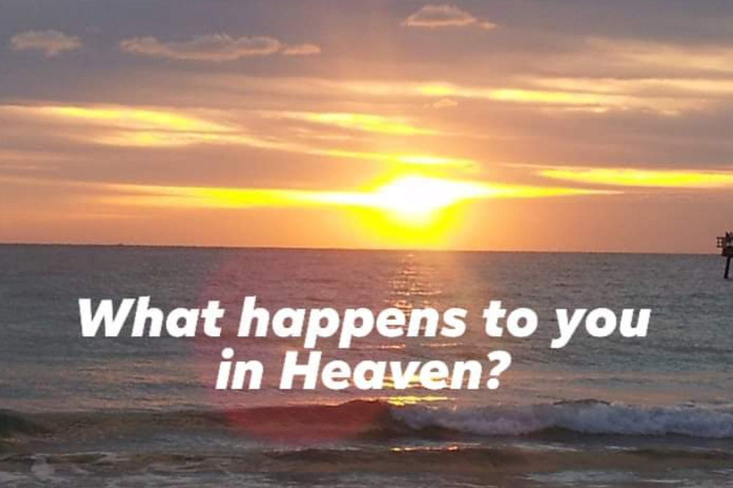 WHAT HAPPENS TO YOU IN HEAVEN?~
