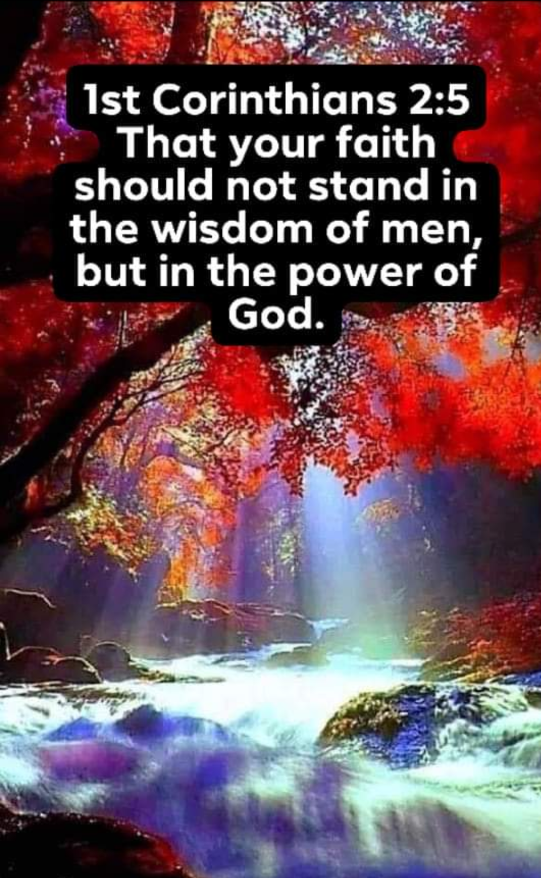 REACH OUT FOR THE POWER OF HOLY GOD!: