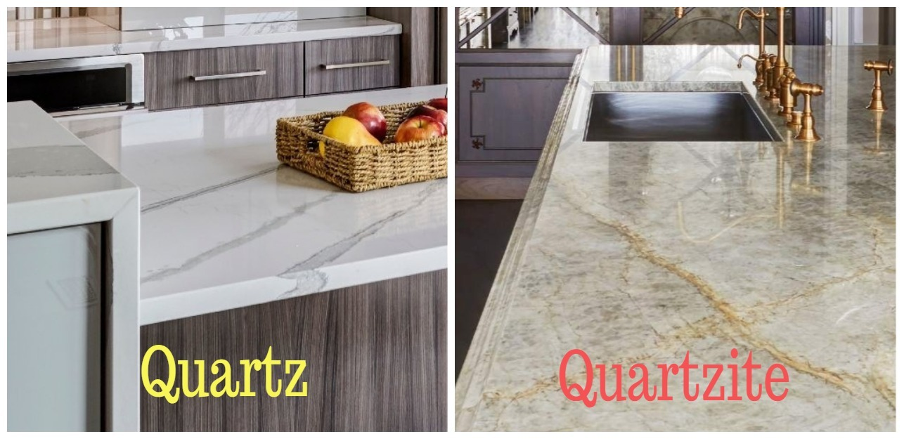 Quartz versus quartzite
