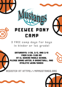 Mustangs Free Basketball Clinic @ El Sereno Middle School