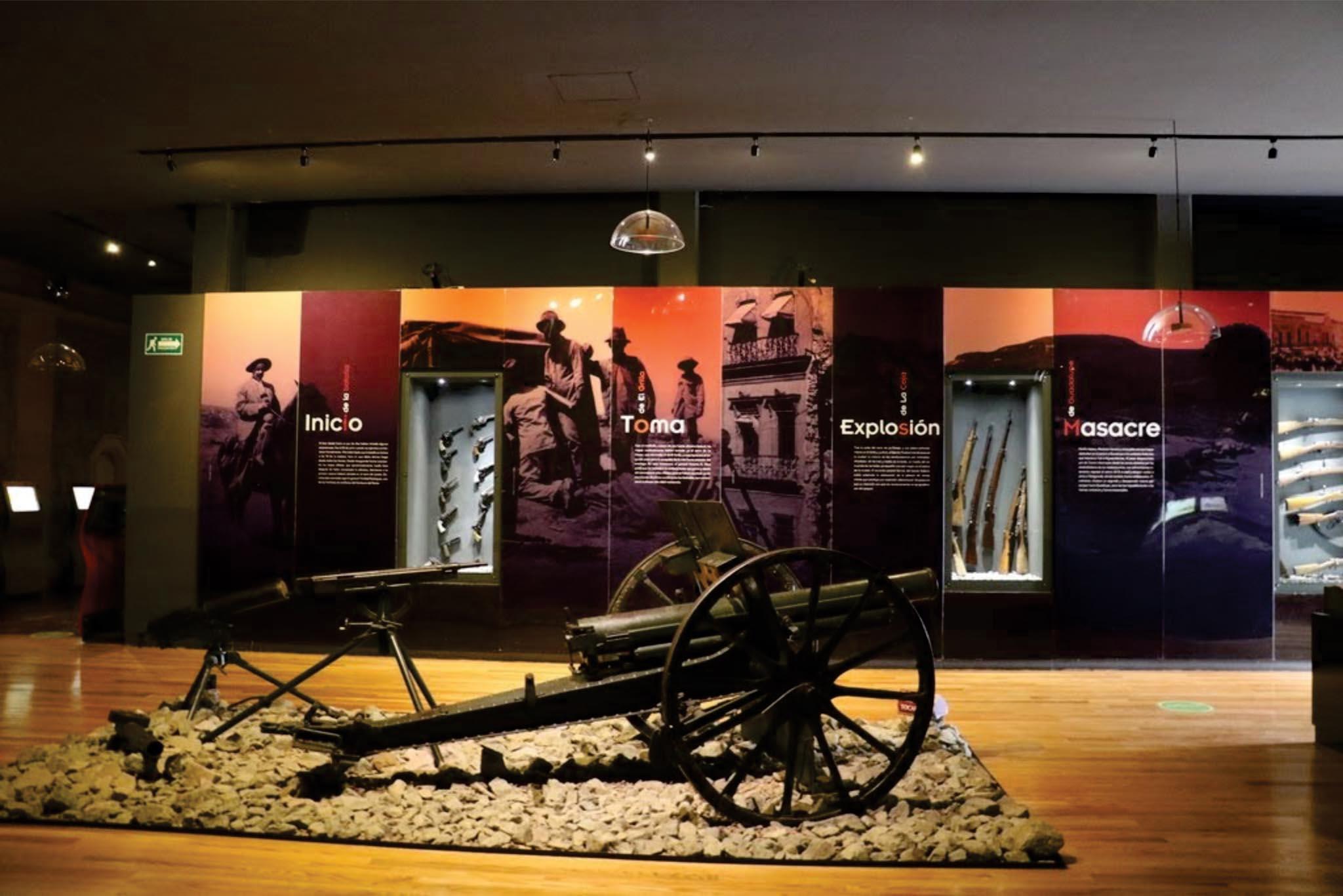 Extienden museos de Zacatecas días y horario de servicio al público