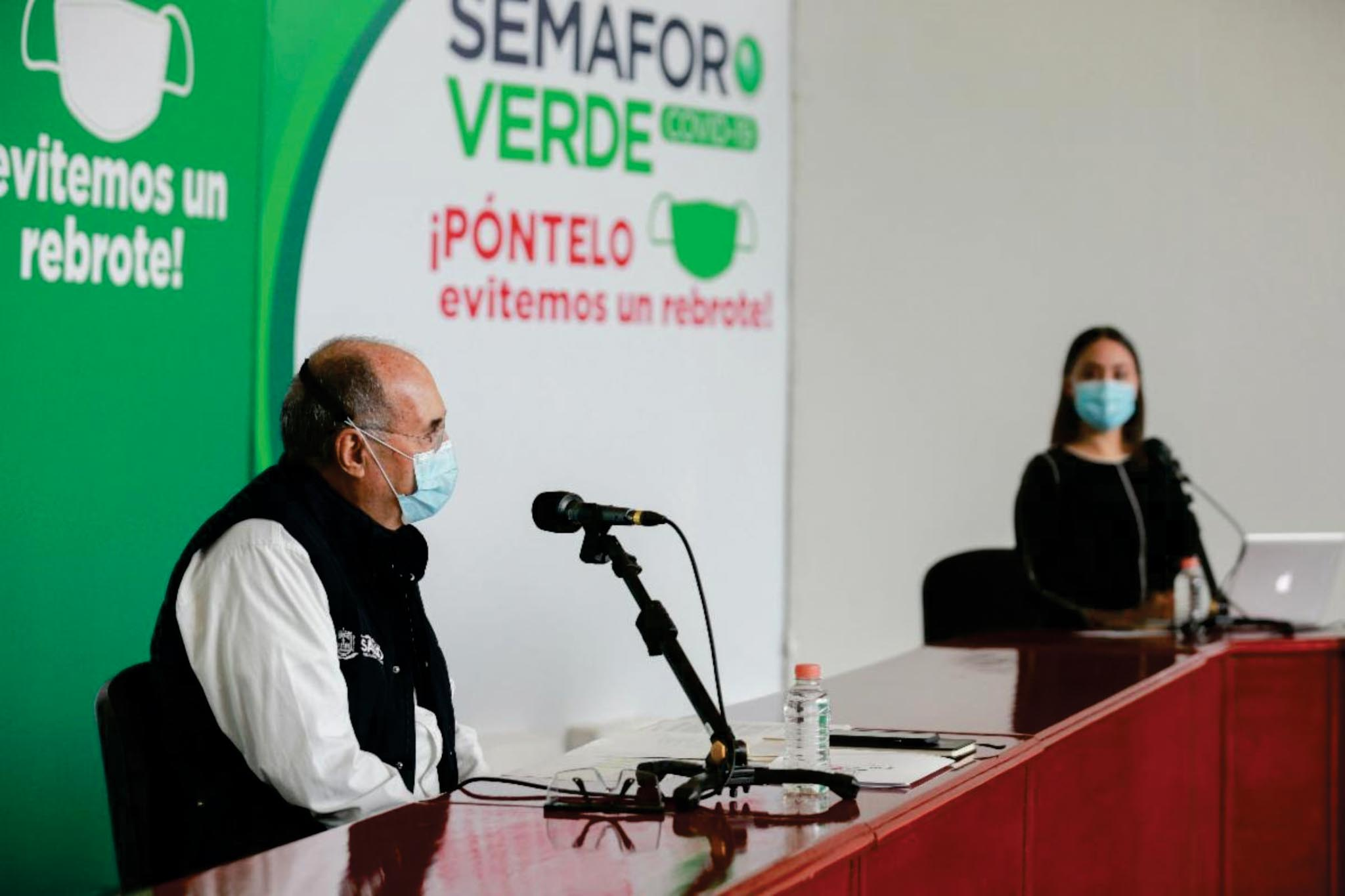 Zacatecas podría regresar a semáforo amarillo: SSZ