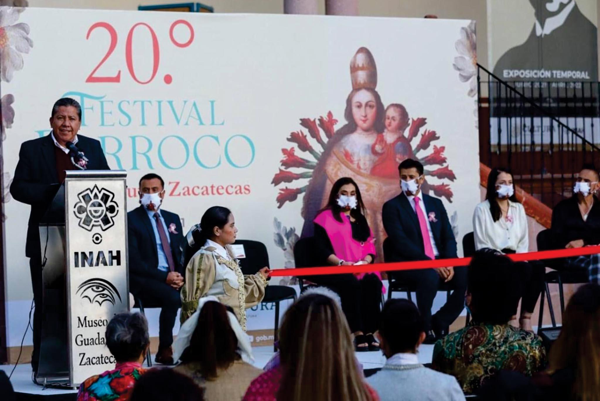 Inaugura Gobernador el 20 Festival Barroco de Guadalupe