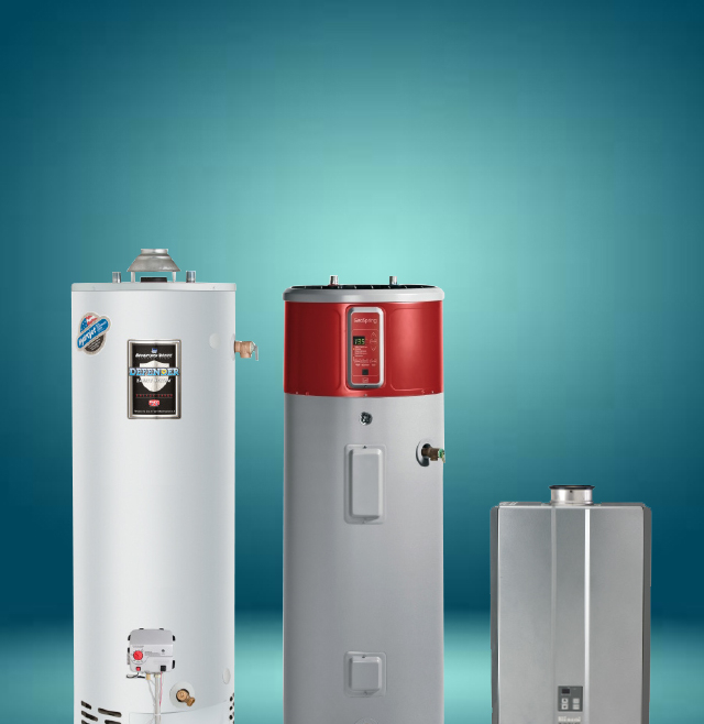 Water Heaters & Tankless Water Heaters