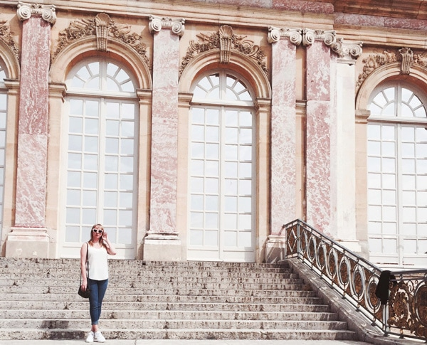 Claire Etchell, Versailles, France, Grand Trianon
