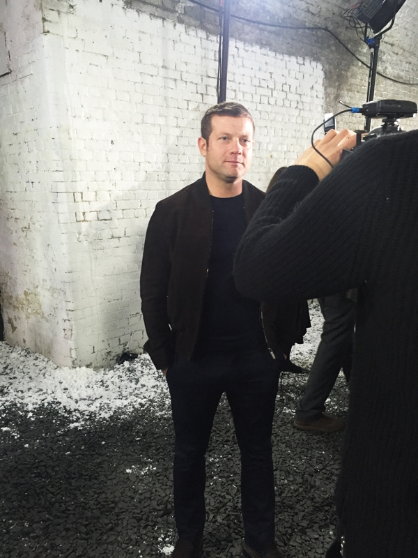 NakedPRGirl_Belstaff_AW16_Heading_North_Sign_Dermot_O_Leary