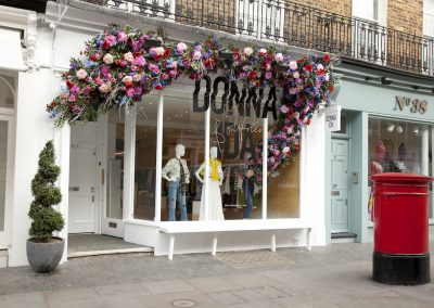 Donna Ida SS18 Window Social Media