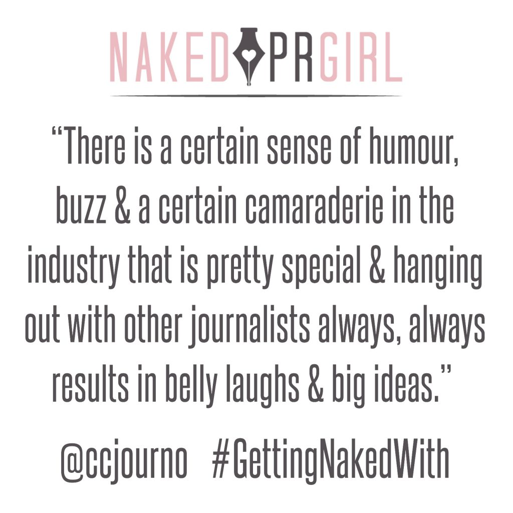 NakedPR Girl - Interview with Caroline Corcoran