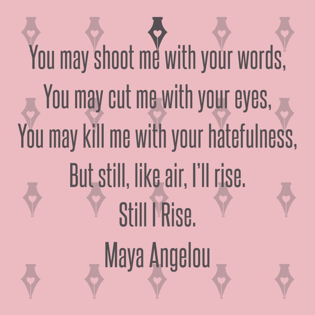 NakedPR Girl Quotes - Maya Angelou