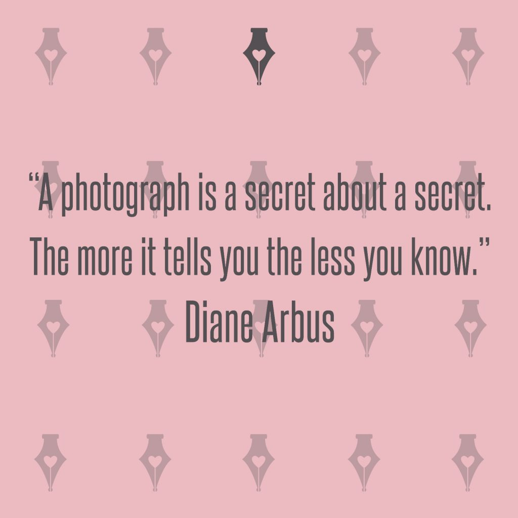 NakedPr Girl Quotes - Diane Arbus