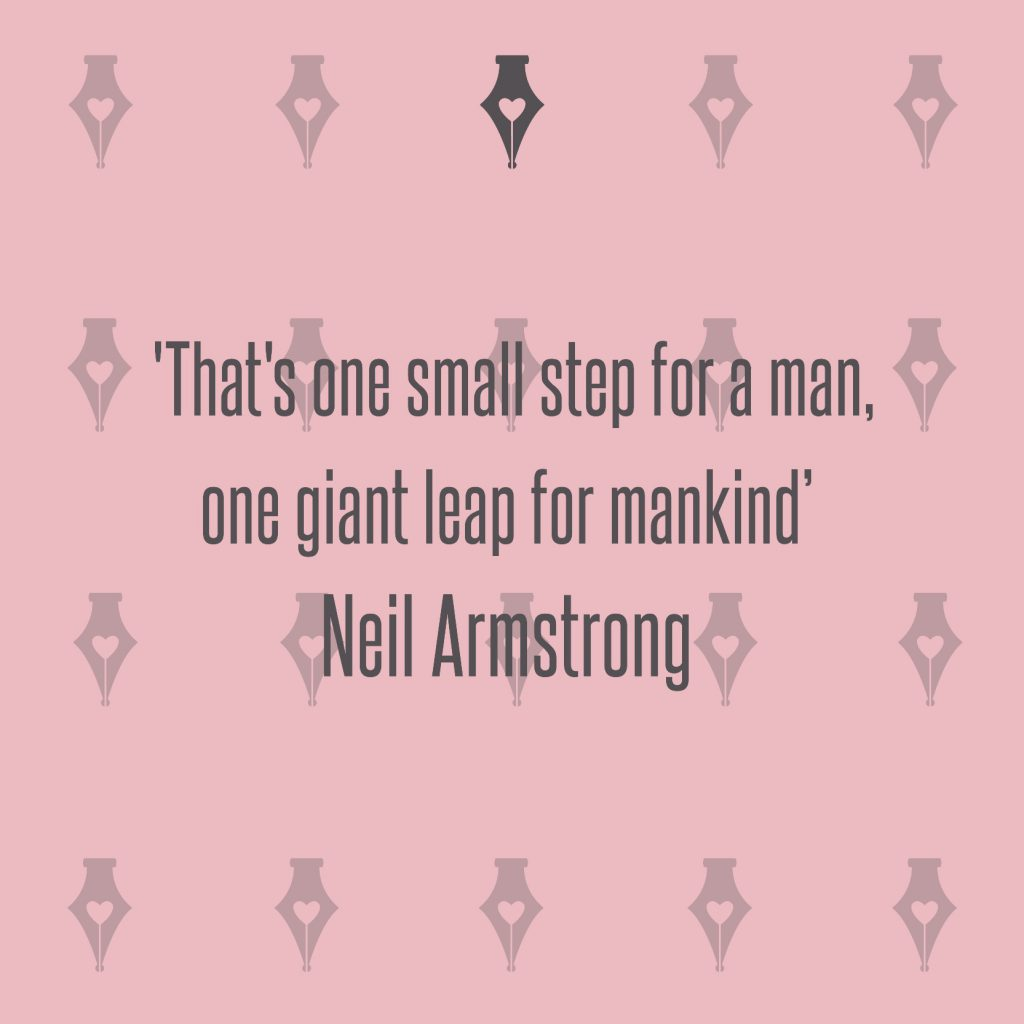 NakedPR Girl Quotes - Neil Armstrong
