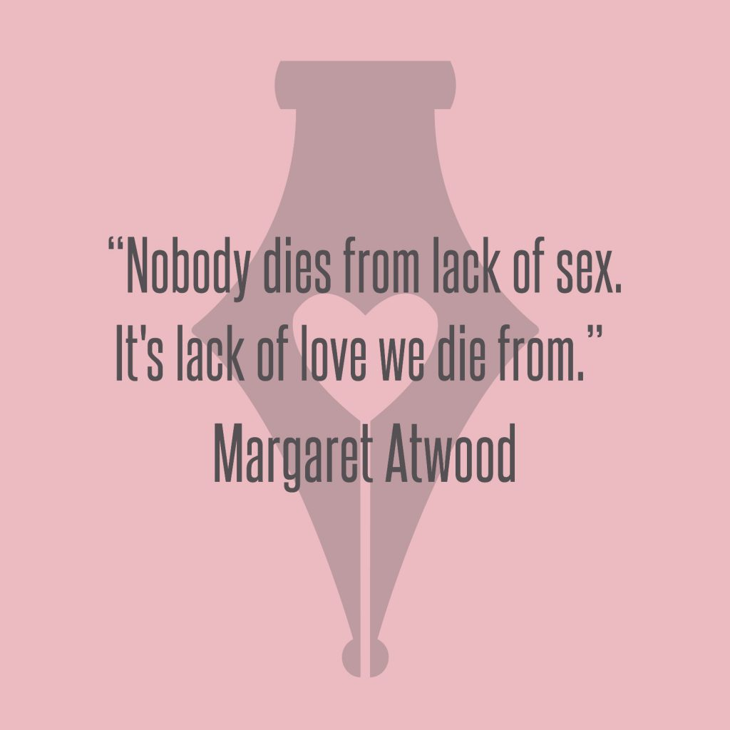 NakedPR Girl Quotes - Margaret Atwood