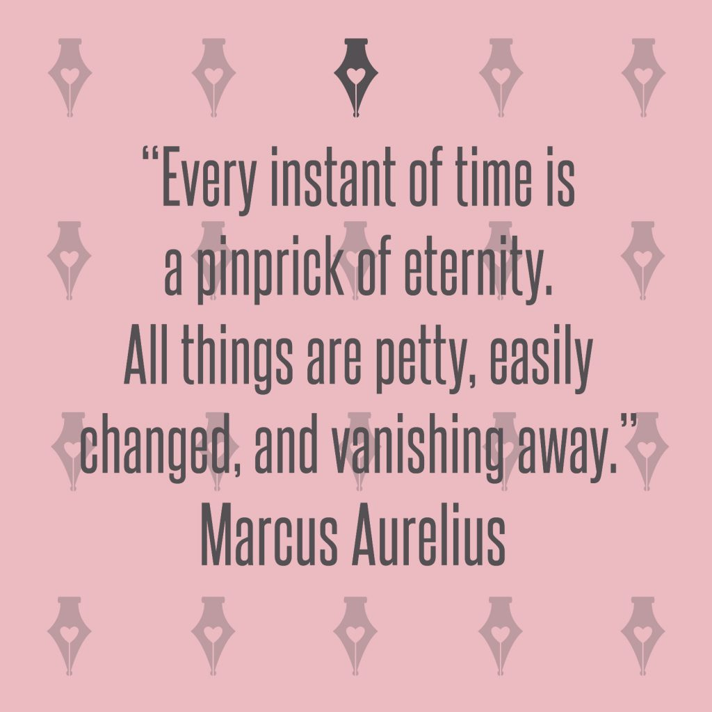 NakedPR Girl Quotes - Marcus Aurelius