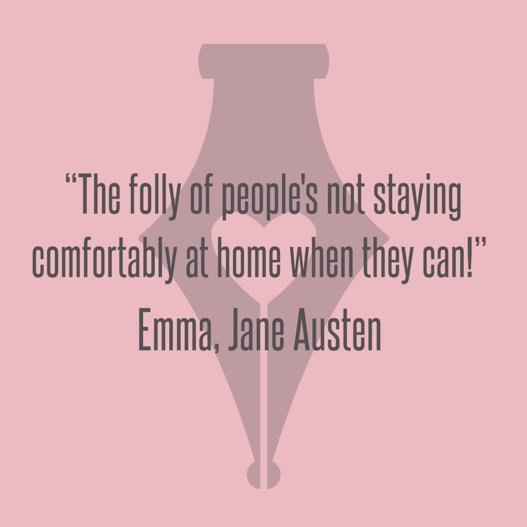 NakedPR Girl Quotes - Emma, Jane Austen