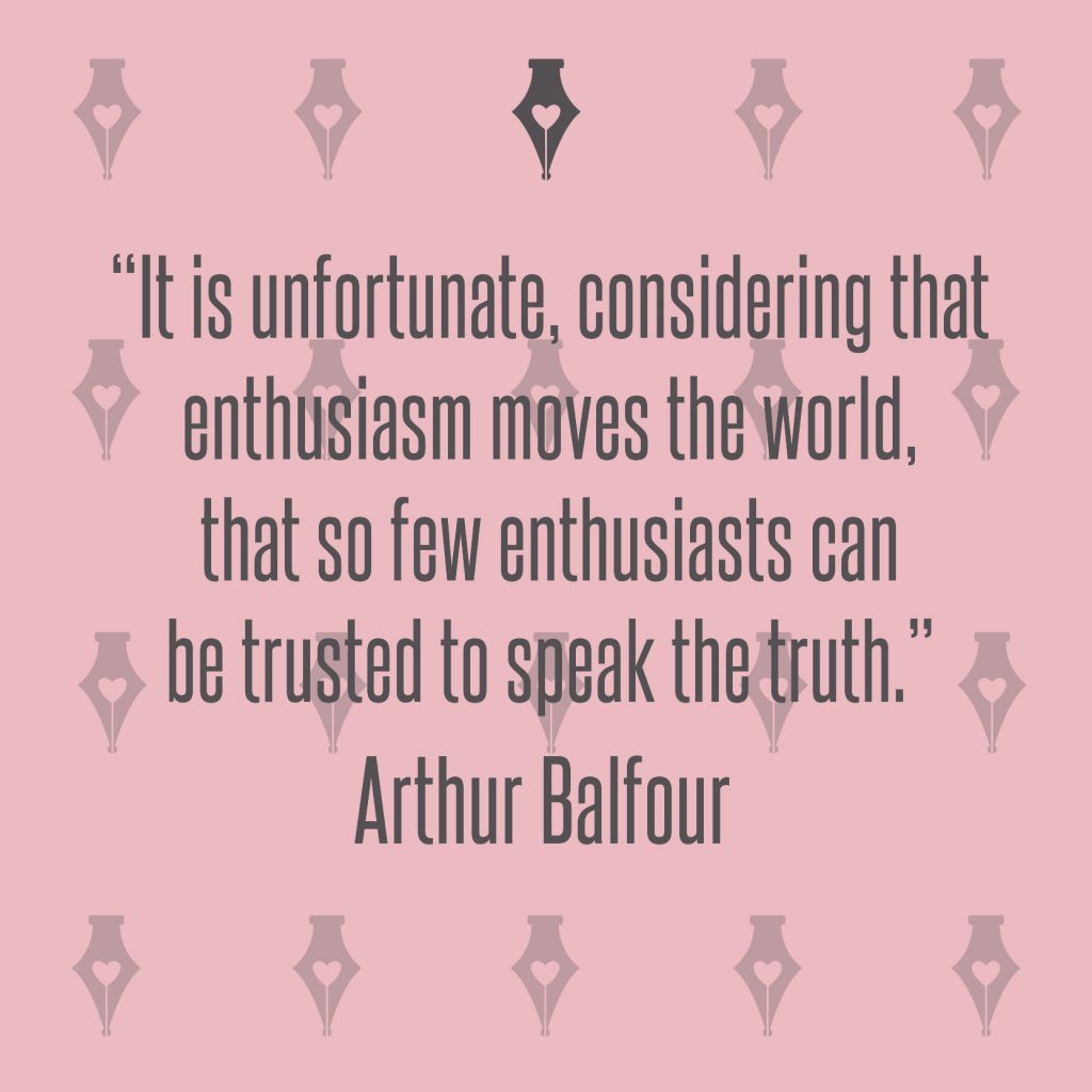 NakedPR Girl Quotes - Arthur Balfour
