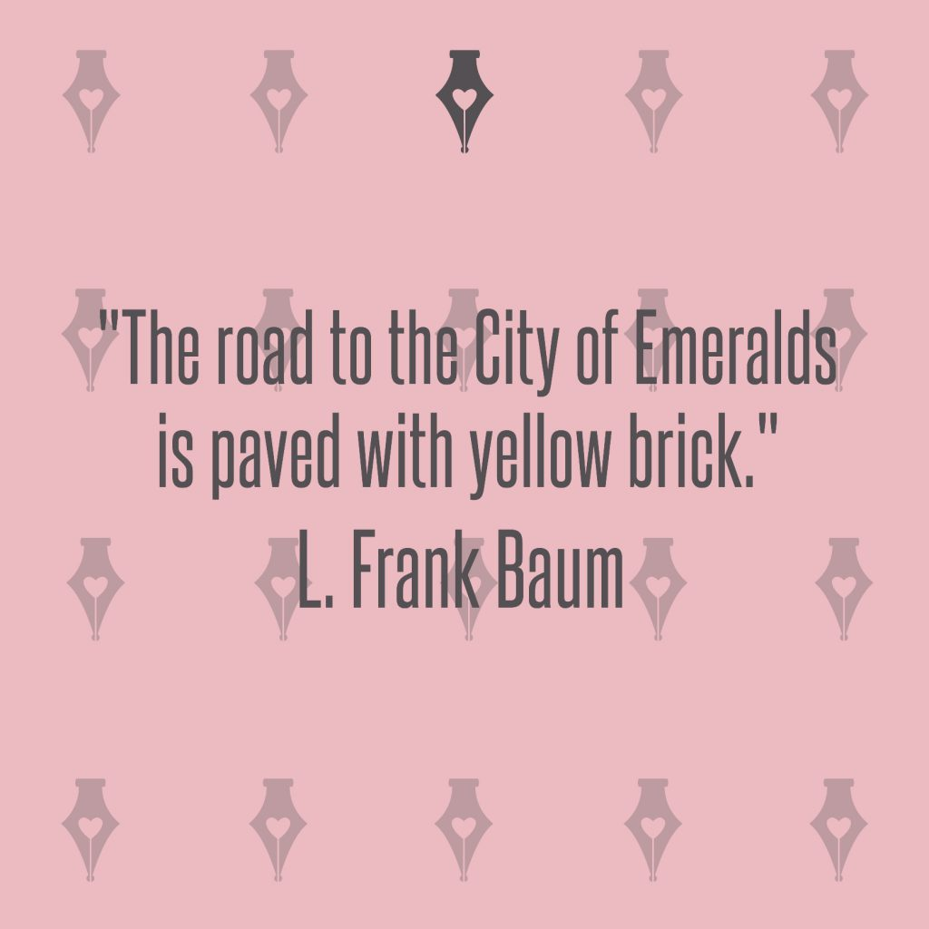 NakedPR Girl Quotes - L. Frank Baum