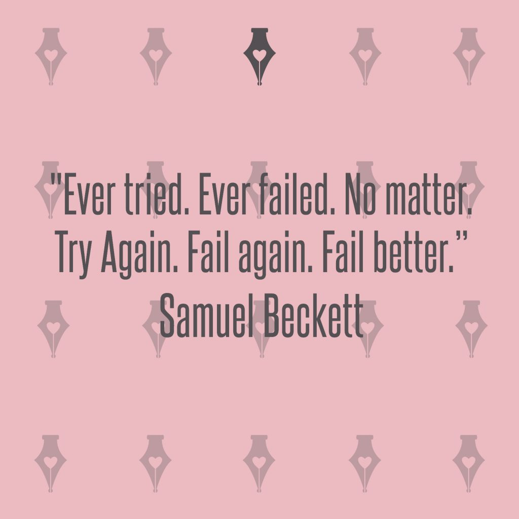NakedPR Girl Quotes - Samuel Beckett