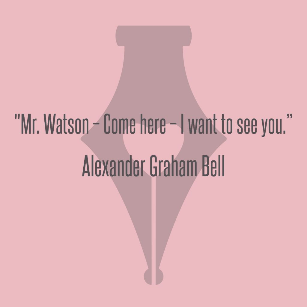 NakedPR Girl Quotes - Alexander Graham Bell