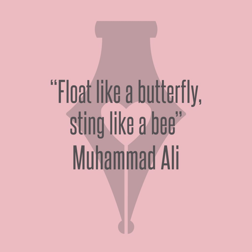 NakedPR Girl Quotes - Muhammad Ali