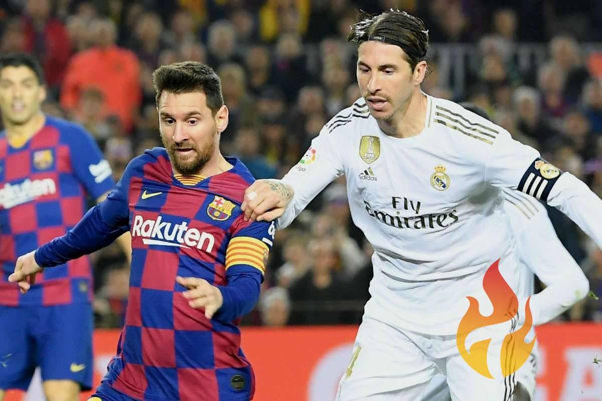 موعد مباراة برشلونه وريال مدريد